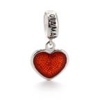 Подвеска-перлина «Влюбленное сердце»