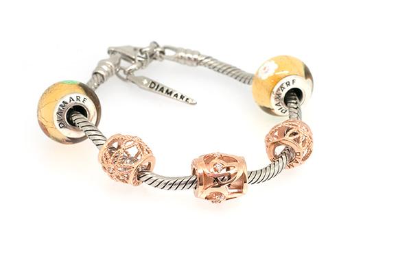 Серебряный браслет Diamare