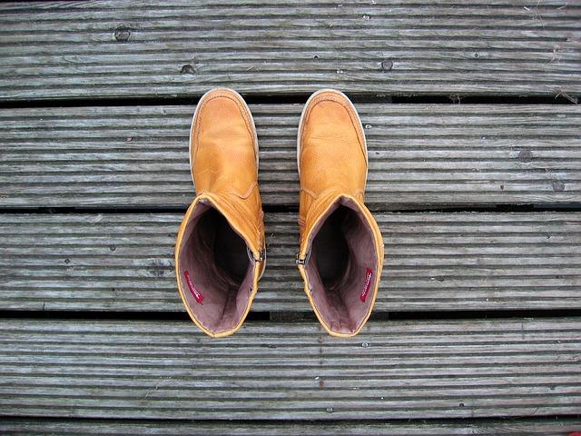 Ботинки песочного цвета