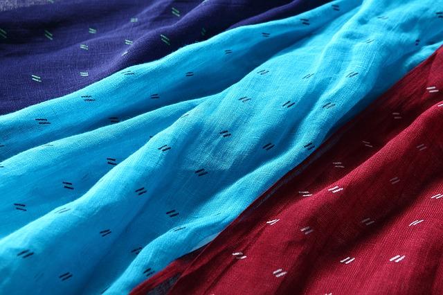 Голубые шарфы