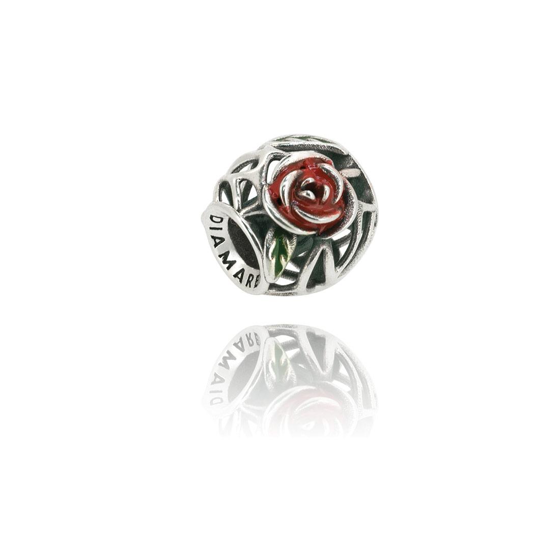 Подвеска перлина Чайная Роза