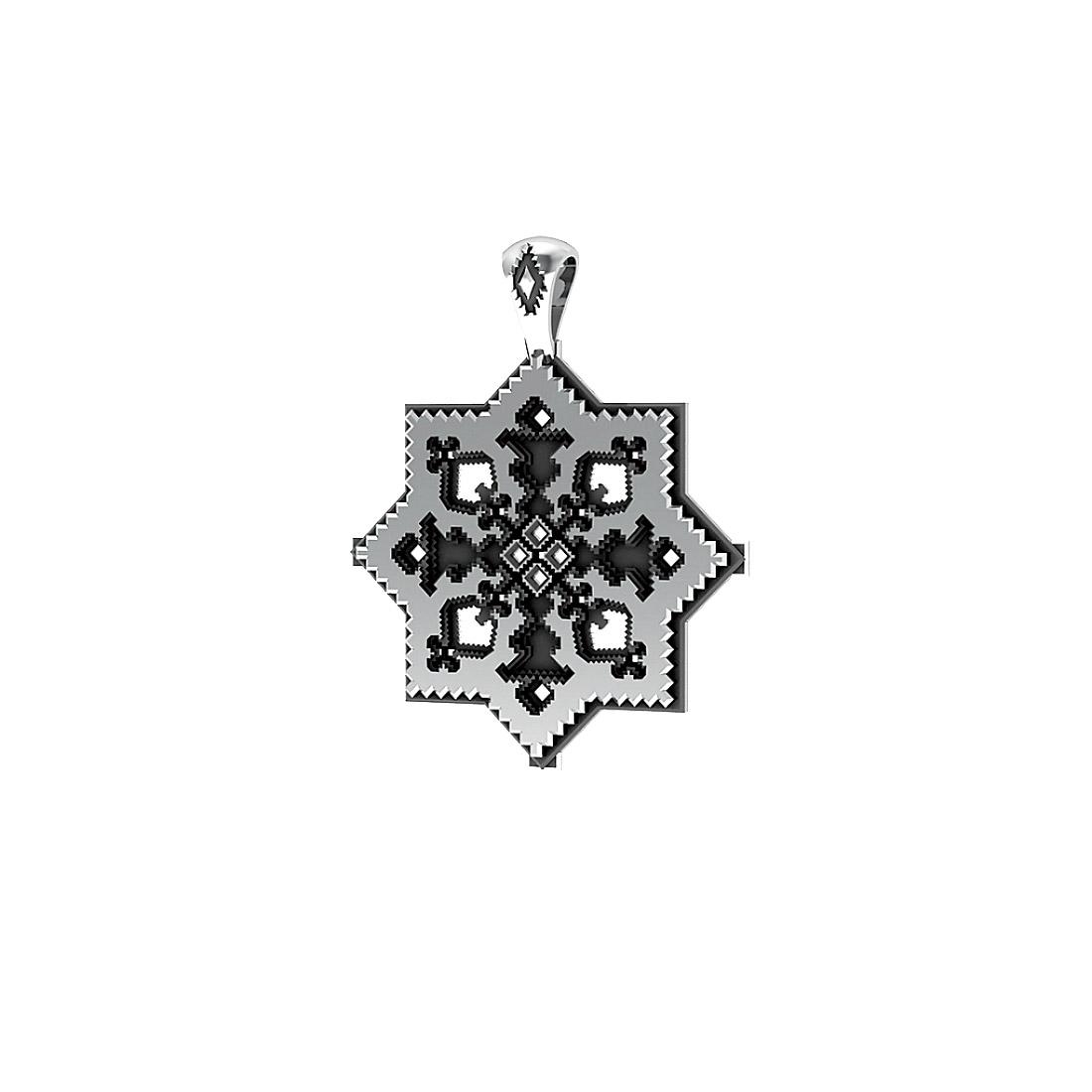 Колье Древнерусская вышивка от Diamare