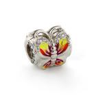 Подвеска-перлина «Яркая бабочка»