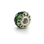 Подвеска-перлина «Зеленое кружево»
